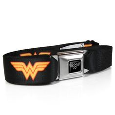 Wonder Woman Auto Seatbelt Buckle Black Strap Belt Official Licensed *** You can find out more details at the link of the image.Note:It is affiliate link to Amazon. #liker