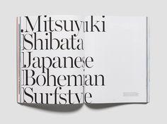 Нью-йоркский журнал «Saturdays» представляет собой графический микс серфингистского образа жизни, мужской одежды, искусства и кофе.