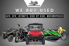 New 2016 Kawasaki Teryx ATVs For Sale in Texas. 2016 KAWASAKI Teryx, Here at Louis Powersports we carry; Can-Am, Sea-Doo, Polaris, Kawasaki, Suzuki, Arctic Cat, Honda and Yamaha. Want to sell or trade your Motorcycle, ATV, UTV or Watercraft call us first! With lots of financing options available for all types of credit we will do our best to get you riding. Copy the link for access to financing. :// /financeapp.asp With HUNDREDS of vehicles available at one place give us a call and let us…