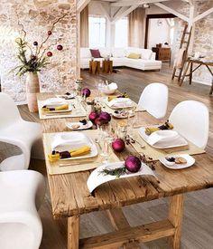 Llegan la Nochebuenay seguramente te gustaríatener la mejor de las mesas para recibir a tus invitados. Si lo que buscas es una Navidad rústica, ...