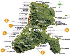 Dicas e relatos de trilhas em Ilhabela