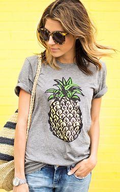 Pineapple Solo tee – Metro Market