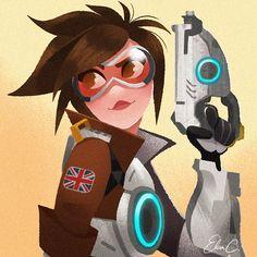 Our favorite Overwatch fan art PC Gamer Overwatch Comic, Overwatch Fan Art, Cartoon Styles, Cartoon Art, Pc Gamer, Widowmaker, Manga, Game Art, Cool Art