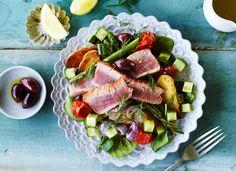 Fresh summer salad. Photo by Steve Krug.