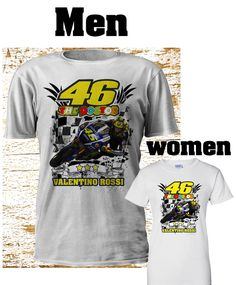 New Valentino Rossi Vinales Moto GP Men Women TShirt Motorcycle Motorbike S-4XL  #gildanfruittheloom #GraphicTee