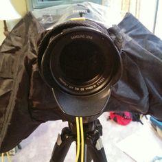 Raincoat for the Samsung Galaxy NX camera...