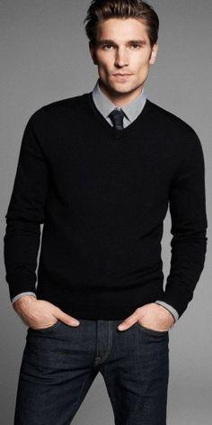 Black Man Sweater