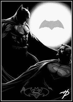 #Superman #And #Batman #Fan #Art. (THE * 5 * STÅR * ÅWARD * OF: * AW YEAH, IT'S MAJOR ÅWESOMENESS!!!™)[THANK U 4 PINNING!!<·><]<©>ÅÅÅ+(OB4E)