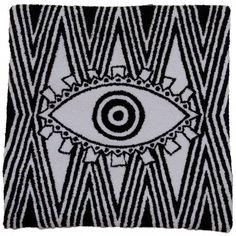 40cm x 40cm Cavaliers Logo, Evil Eye, Team Logo, Cushions, Products, Earth, Home Decor Accessories, Pillows, Throw Pillows