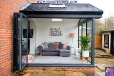 Our Modern Conservatory Extension- Before and After (Home Renovation Project - Mummy Daddy Me Lean To Conservatory, Conservatory Extension, Conservatory Kitchen, Conservatory Interiors Small, Modern Conservatory Furniture, Garden Room Extensions, House Extensions, Style At Home, House Extension Design
