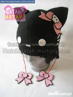 anime cosplay fleece hats (custom-made) (kawaii hats ... Pastel 3e5d2d16c554