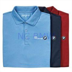 1a66c926ec4 BMW Genuine Logo OEM Factory Nike UV Tech Polo Shirt   Crimson Red S Small