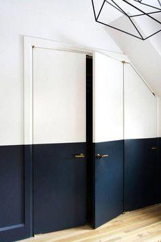 17 ideas para pintar y decorar las puertas interiores de casa   Mil Ideas de Decoración