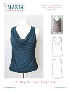 This sleeveless top has a drape front neckline which drapes elegantly at the front, making this top perfect for a dinner out or for clubbing all night long!  But as well as being great for night time, this top is elegant and great for daytime at the office. Wear it with a skirt or trousers and maybe with a cardigan or blazer jacket to cover the arms. For night time it's great with jeans and heels - and a ton of bracelets!