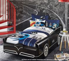 http://www.potterybarnkids.com/products/batmobile-bed/?pkey=dbeds-mattresses