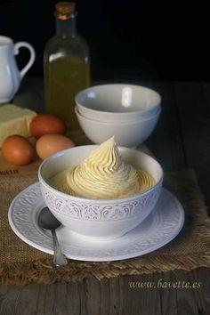 Crema de mantequilla francesa para pasteles