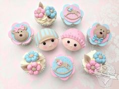 Baby Shower Cupcakes by Truly Madly Sweetly Cupcakes                                                                                                                                                      More