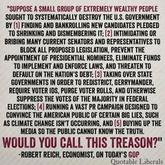 CORRUPT GOP + THE RICH PARASITIC 1% ROBBING TAXPAYERS ARE COMMITTING TREASON!!