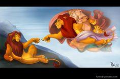 disney work Simba by Michelangelo Buonarroti humorous image po Kiara Lion King, Lion King 1, Lion King Fan Art, Lion King Movie, Simba Disney, Disney Lion King, Disney Art, Disney Movies, Funny Disney