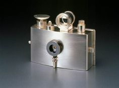Jewelry making meets industrial design in these stunning little cameras crafted form silver by Hyun-seok Sim.
