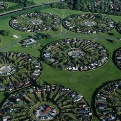Amazing sustainable living estates. Copenhagen, Denmark.