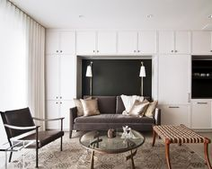 Kara Mann Design | built-ins with space for seating