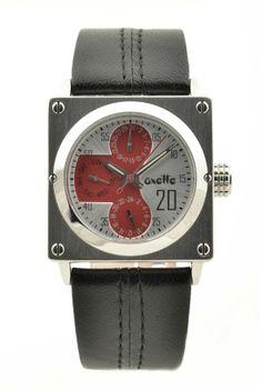 Ceas unisex, negru/roşu #women #accessories #Oxette #Loisir #jewelry #watches