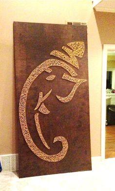 Image Result For String Art Ganesha