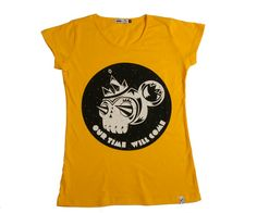Monkey Biz womens tee available at www.ilovepolypop.com
