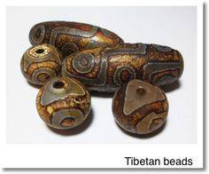 tibetan beads sort of like one i have and will pin. Not the same color,different technique? Ethnic Jewelry, Beaded Jewelry, Handmade Jewelry, Jewellery, Metal Beads, Glass Beads, Beads Pictures, African Trade Beads, Lampworking