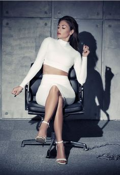 Nicole X Missguided Cut Out Midi Skirt White