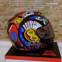 82.30$  Buy here - http://ali99q.worldwells.pw/go.php?t=32756692101 - Motocross MULUSHUN Full Face motorcycle helmet ABS motor knight riding Locomotive helmets Model Playing cards size M L XL XX  82.30$