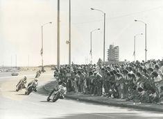 Competições de Motos - Copa CMV (Uruguai, Montevidéu – 1984) Circuito de Rua – 1º Lugar – Acervo Lucílio Baumer - Motostory Brasil Uruguay, Street, Brazil, Motorbikes, Places, Circuit