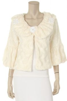65 percent Polyester 35 percent Cotton 1S/1M/1L Per Pack Off White, Black, Brown This HIGH QUALITY jacket is VERY CUTE!! Made from a super warm and cozy fabric, this sweet fully lined jacket is very soft, and fits true to size.