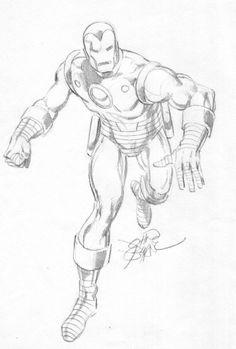 Marvel Comics of the 1979 - Iron Man by John Byrne Comic Book Artists, Comic Artist, Comic Books Art, Marvel Art, Marvel Comics, Iron Man Drawing, Comic Art Fans, Avengers Drawings, Man Sketch