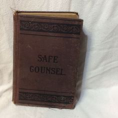 1912 Safe Counsel Sexual Science Search Light On Health