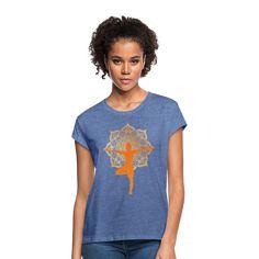 Geschenke Shop | Yoga Pilates Meditation - Frauen Oversize T-Shirt Custom Polo Shirts, Custom Tank Tops, T Shirt Designs, Yoga Pilates, Irish Girls, Yoga Tops, Trends, Unisex, Custom Clothes