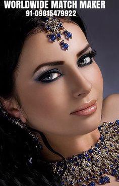 Beautiful eyes and Gorgeous makeup. Beautiful Eyes, Gorgeous Women, Beautiful People, Belle Silhouette, Exotic Beauties, Braut Make-up, Bridal Make Up, Indian Bridal, Pakistani Bridal