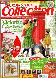 Gallery.ru / Фото #1 - 138 рождество 2006 - anfisa1 Cross Stitch Christmas Stockings, Xmas Cross Stitch, Cross Stitch Books, Just Cross Stitch, Cross Stitch Cards, Cross Stitching, Cross Stitch Embroidery, Plastic Canvas, Stitch Witchery