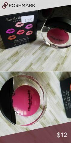 Elizabeth Arden Sheer Kiss Lip Oil Heavenly Rose #06 brand new in box.  .24 oz Elizabeth Arden Makeup Lip Balm & Gloss