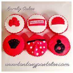 Cupcakes flamencas