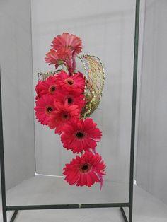 Framed Spacial Design by Naomi Ormes | Floral Designs: Framed ... on