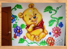 Winnie The Pooh, Princess Peach, Disney Characters, Fictional Characters, Art, Tela, Body Makeup, Different Types Of, Portraits