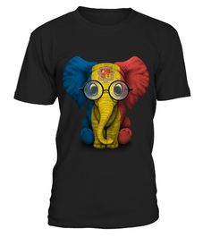 # Baby Elephant with Glasses and Andorra Flag .  HOW TO ORDER:1. Select the style and color you want: 2. Click Reserve it now3. Select size and quantity4. Enter shipping and billing information5. Done! Simple as that!TIPS: Buy 2 or more to save shipping cost!This is printable if you purchase only one piece. so dont worry, you will get yours.Guaranteed safe and secure checkout via:Paypal | VISA | MASTERCARD