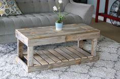 Natural Slatted Bottom Coffee Table * Details can be discovered by clicking the image. (This is an affiliate link). Round Wooden Coffee Table, Rustic Coffee Tables, Car Furniture, Living Room Furniture, Pallet Furniture, Rustic Furniture, Furniture Ideas, Coffee Table Inspiration, Storing Books
