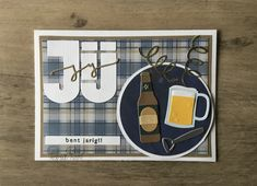 Marianne Design, Drink Bottles, Card Ideas, Beer, Wine, Glasses, Drinks, Cards, Root Beer
