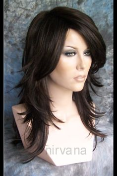 This is a wig but the style is great! Saving this in my hair board