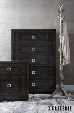 A marriage of clean lines and overlay dimension, our Gunnar Casegood Collection is handsome and sophisticated.