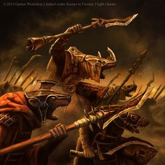 Warhammer Invasion - Clanrats - Mark Bulahao
