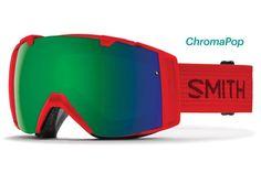 Smith - I/O Fire Goggles, ChromaPop Sun Lenses